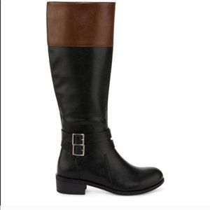 Arizona 8 Tall Heeled Zip Up Boots Shoes Riding